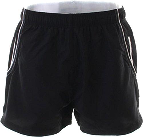 Gamegear Cooltex tasca posteriore con zip interna, fodera Shorts Active da uomo blu navy / bianco