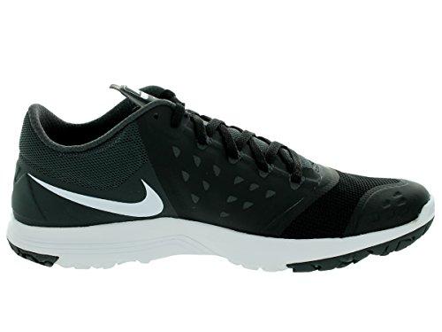 Scarpa Lite Antracite 5 Nike Uomini Bianco Formatore Fs 10 Ci Black White Allenamento Ii Mens Nero zqwq1Epx
