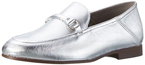 Hudson London Damen Arianna Mokassin Silber (Silver)