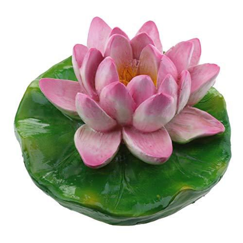 Seerose Lotus Blumen Gartendeko, wunderschön - S (Lila) ()