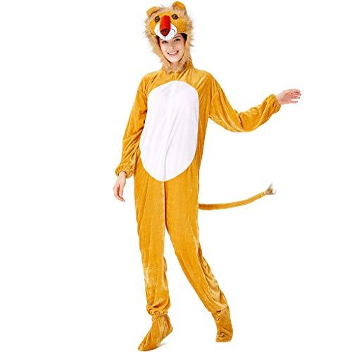 Tiger Frauen Kostüm - Lomelomme Halloween Halloween Cosplay Tiger Kostüm Damen Kostüm Karneval Frauen Adult Pyjamas Party Tierkostüm