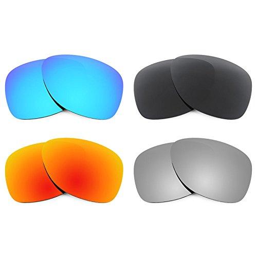 Revant Ersatzlinsen für Oakley Dispatch 2 Polarisiert 4 Paar Kombipack K018