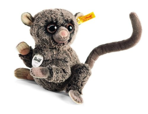 Steiff 067334 - Koko Koboldmaki 17 cm, dunkelbraun gespitzt