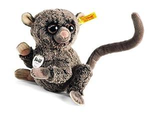 Steiff 067334 Koko - Tarsio de Peluche (17 cm), Color marrón