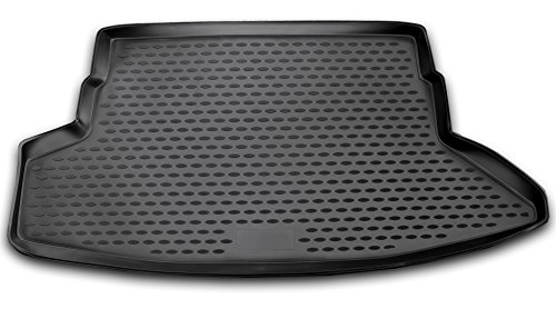 AD Tuning TMP24003 Passform Kofferraumwanne, Anti-Rutsch Oberfläche, schwarz