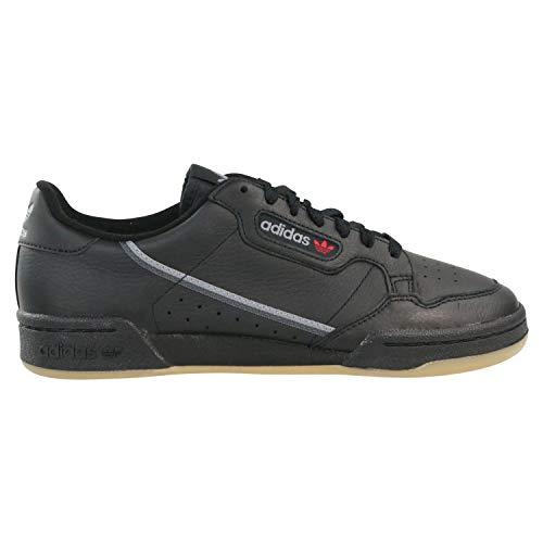 adidas Herren Continental 80 Sneaker, Schwarz (Black Bd7797), 43 1/3 EU