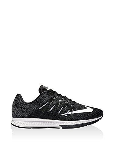 Nike Herren Air Zoom Elite 8 Laufschuhe Black (Schwarz (schwarz / weiß-anthrazit-dunkelgrau))