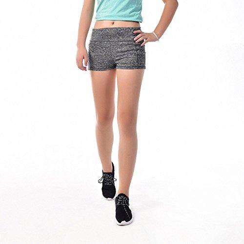 ants Sport Shorts Bund Sommer Fitness Yoga kurz grau grau M ()