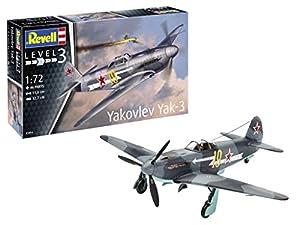 Revell- Yakovlev Yak-3 Kit Modelo, (03894)