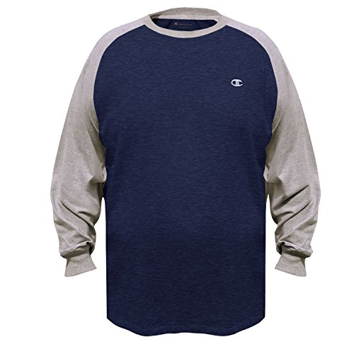 Champion - Maglietta sportiva - Maniche lunghe  -  uomo Champ Navy Heather/Oxford Heather