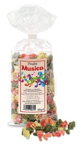 """Noten-Nudeln \""""Pasta Musica\"""""""