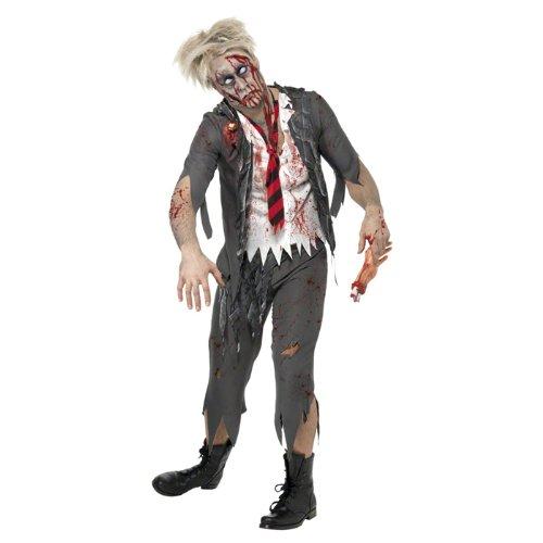 Zombie Boy School Kostüm - PARTY DISCOUNT NEU Herren-Kostüm Zombie School-Boy Gr. M