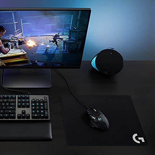 Logitech G502 Hero Ratón para Gaming con Sensor Hero (Ratones RGB,  16.000 dpi,  11 Botones programables,  ratón para PC portátil,  5 Pesas Ajustables,  Equilibrio Personalizable) -  Paquete EU – Negro