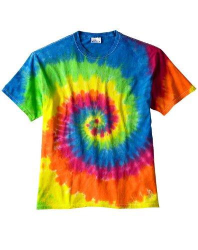 Bullshirt donna sublimazione stampa tie-dye maglietta (arcobaleno). Rainbow Medium