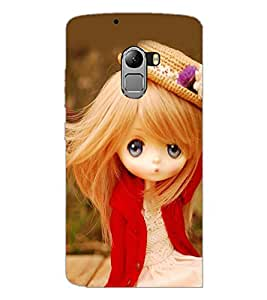PrintDhaba Cute Doll D-1019 Back Case Cover for LENOVO K4 NOTE A7010a48 (Multi-Coloured)