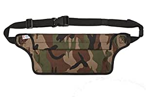 New 100% Waterproof - Aqua Quest AquaRoo Money Belt - Comfortable & Ultra-Light Waist Bag Travel Pouch - Durable & Easy to Conceal Dry Bag Fanny Pack
