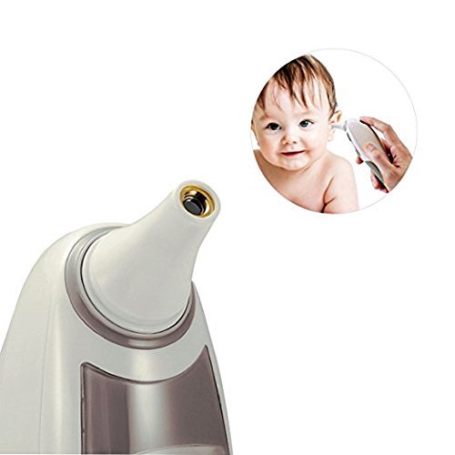 Ear Thermometer Infrared Digital Quick Reading with 1-Second Readout for Baby/Adult