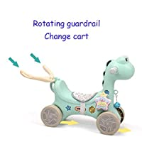 LGP Toddler Rocker Baby Rocking Horse Animal Horse Plastic Child Ride on Toy with Music Function Walkers Rocker for Kid 1-3 Years