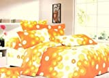 Dexim Cotton Printed Bed Sheet with two ...