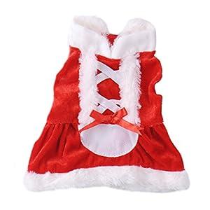 Hiver Noël Snowsuit Vêtements/Veste/Doudoune/Manteau/Déguisement Epais Chaud pour Chien Petit Chien et Chiot