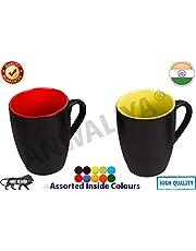 Anwaliya Multi Colour Ceramic Mugs