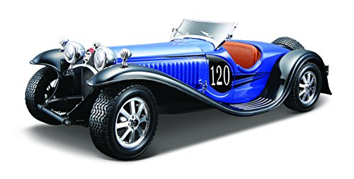 BBurago - 25035 - Voiture sans pile - Construction - Kit Bugatti Type 55 - échelle 1/24