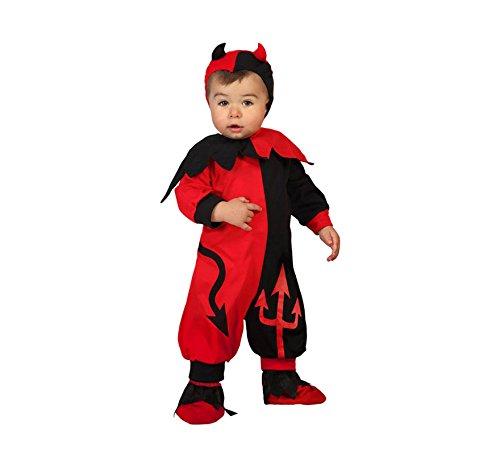 ATOSA 22721 Karnevalskostüm, rot, 6 a 12 Meses (Bebe Disfraz De Halloween Para)