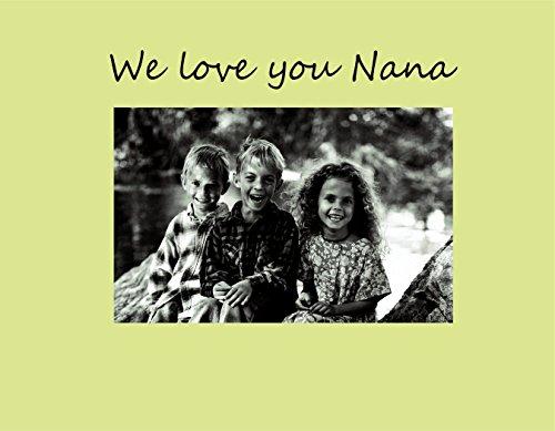 Havoc Gifts 9012-SO We Love You Nana Bilderrahmen, klein, Austernfarben -