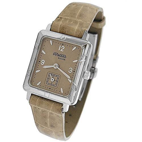 b06945c06f71 DUWARD Montre Femme Analogique Quartz Cuir Bracelet IR-3219