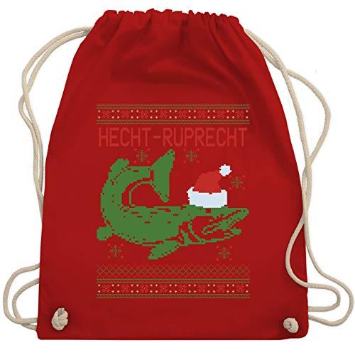 Weihnachten & Silvester - Hecht-Ruprecht - Unisize - Rot - WM110 - Turnbeutel & Gym Bag
