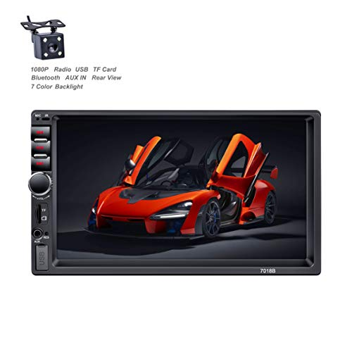 X-REAKO Car Radio 2 DIN Autoradio Car Stereo 7 pollici HD Touch Screen Bluetooth Manos Libres Radio...