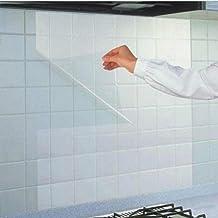 Kicode Transparent Nützlich Universal DIY Ölbeständige Küchenaufkleber  Wohnkultur Entfernbarer Reiniger