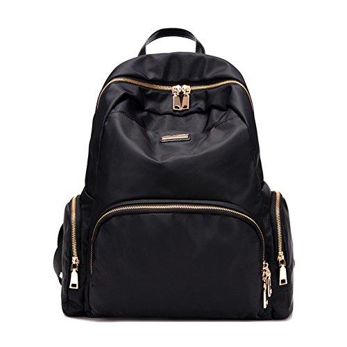 Damen schultertaschen,reisetasche,canvas-tasche,schulranzen-schwarz schwarz