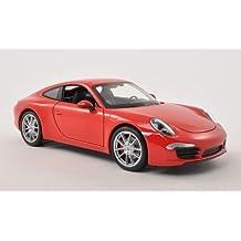 Porsche 911 (991) Carrera S, rojo, 0, Modelo de Auto,