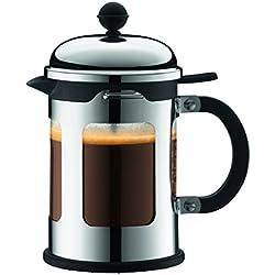 Bodum Chambord - Cafetera, 4 tazas o 0.5 litros