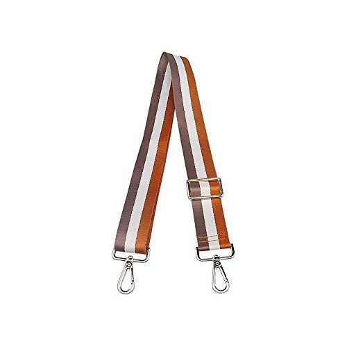 Anjing Leinwand, bunt, Ersatz-Armband, verstellbar, 70-135cm Gray White Brown2# - Leinwand Gurtband