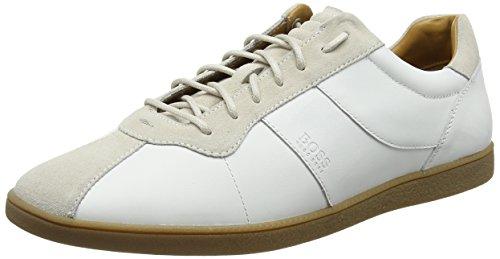 BOSS Orange Herren Rumba Tenn sdna Sneaker, Weiß (White 100), 46 EU