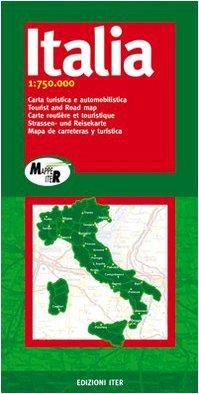 Italia. Carta turistica e automobilistica 1:750.000 (Mappe Iter)