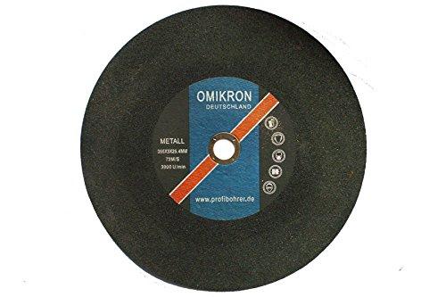 355mm INOX VA Metall Trennscheiben Flexscheiben für Winkelschleifer 355x3mm