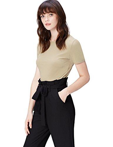 find. Damen T-Shirt Damen , Beige (Khaki) , 36 (Herstellergröße: Small)