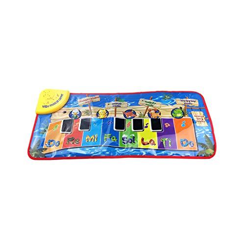 Younthone Wohnkultur Teppiche Karikatur-Tastatur-Musikalische Matten-Teppich-Klavier-Spiel-Tierbaby-PäDagogisches Spielzeug GenießE Das Leben Und VergnüGe Dich -