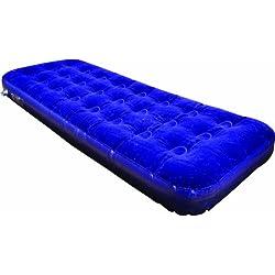 Sleepeze Matelas gonflable bleu pour une personne