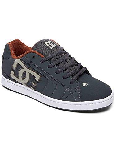 DC - Sneaker NET 302361-DWA - dark shadow white red, Taille:48.5 EU