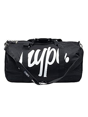 Hype Homme Script Logo Sac fourre-tout, Noir, One Size