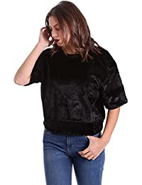 Converse 10006217 Sweatshirt Women Black M