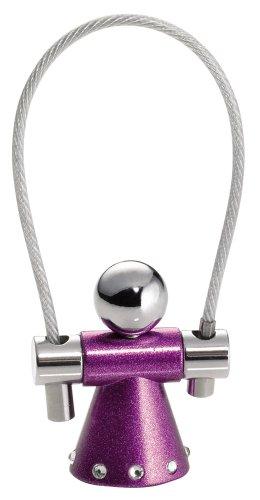 troika-porte-cles-mixte-pourpre-violet-8-cm