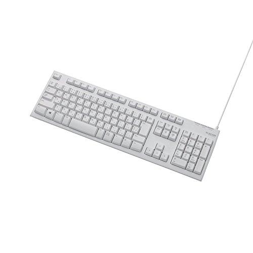 10 milioni di volte la tastiera Ruggedized ELECOM 108 chiave di connettore USB PS / (108 Chiave Usb)