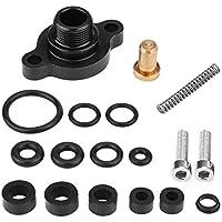 KIMISS Ajustadores/Regulador de presión de combustible, Kit de tapa de válvula de palanquilla de control para 99-03 7.3L Power Stroke Diesel