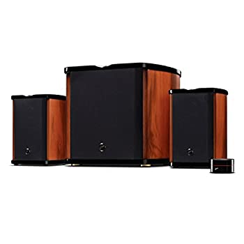SWANS Speakers M50W 2.1 Powered Bookshelf Speaker