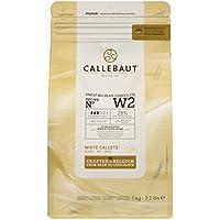 Callebaut W2 28% pepitas de Chocolate Blanco (callets) 1kg